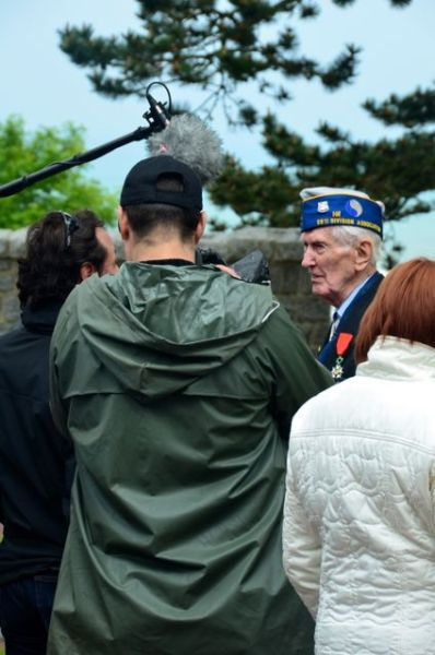 veteraninterviewedonday2013normandy