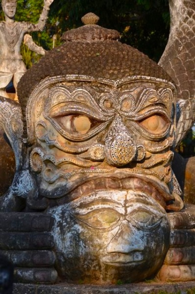 Buddha Park Vientiane Laos Xieng Khuan072