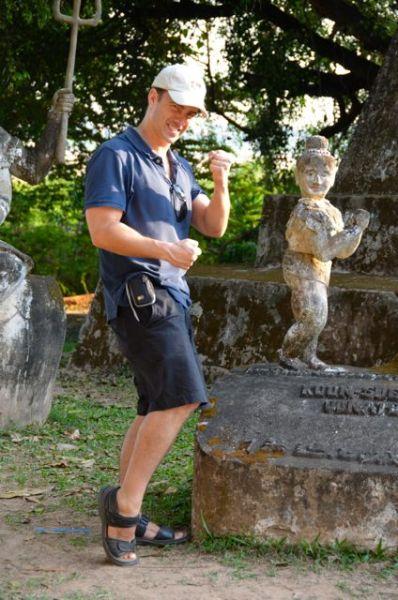 Buddha Park Vientiane Laos Xieng Khuan094