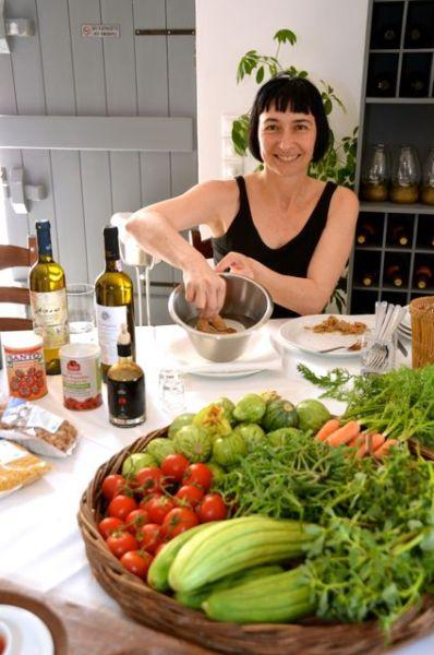 Santorini Restaurant Wine Food Cooking Class Selene Greece29