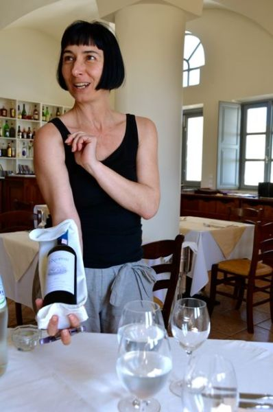 Santorini Restaurant Wine Food Cooking Class Selene Greece59