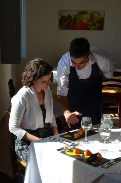 Santorini Restaurant Wine Food Cooking Class Selene Greece75