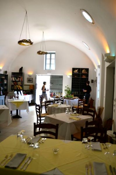 Selene Restaurant Santorini Greece a