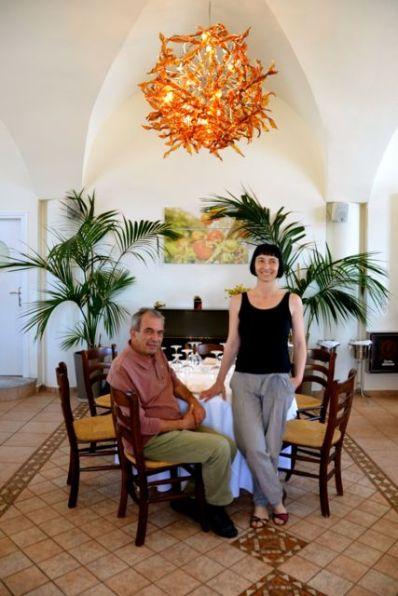 Selene Restaurant Santorini Owner and Sommelier1