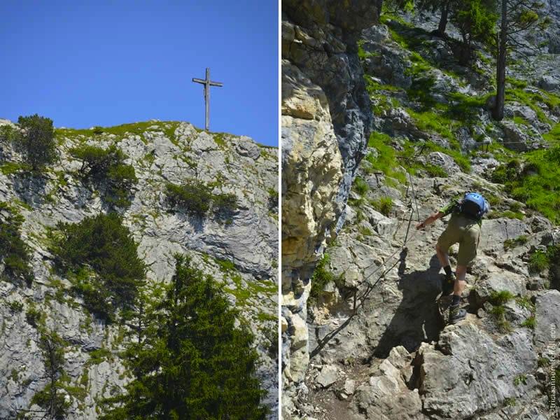 Kofel Climb in Oberammergau