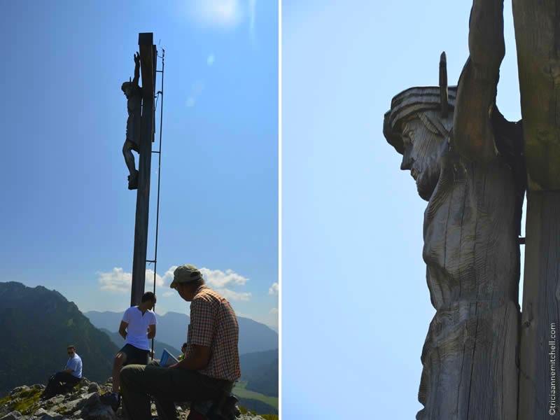 oberammergau woodcarving cross