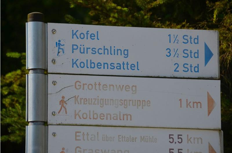 Kofel Mountain Oberammergau Germany 3