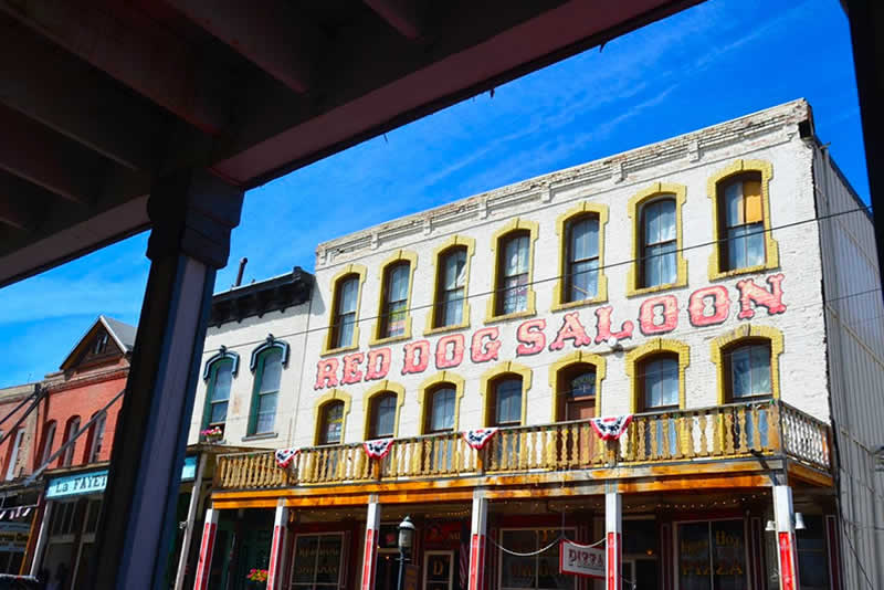 Red Dog Saloon Virginia City