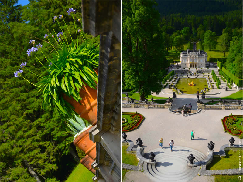 Schloss Linderhof architecture and gardens 2