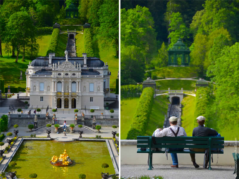 Schloss Linderhof architecture and gardens 3