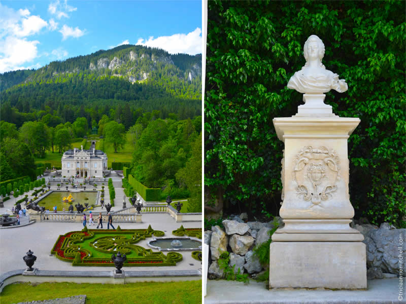 Schloss Linderhof architecture and gardens