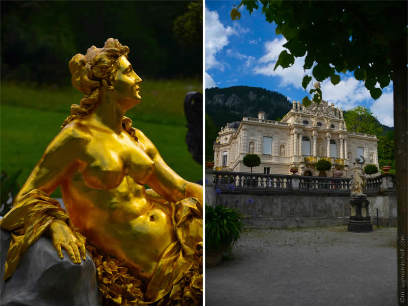 Schloss Linderhof Fountain and Architecture