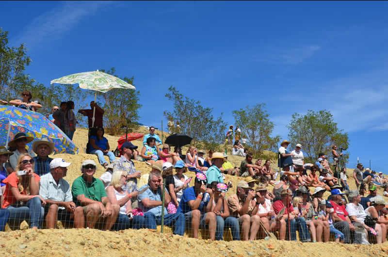Virginia City International Camel Races Spectators