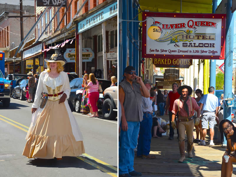 Virginia City Street Scenes