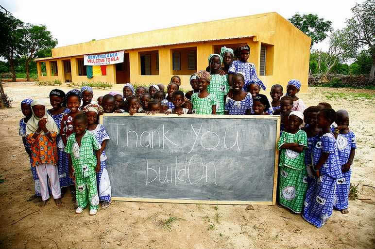 buildOn school in Mali
