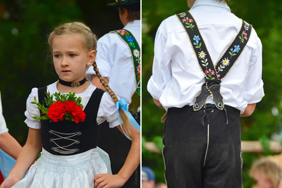 Oberammergau Schuhplattler Gartenfest German folk dancing 2