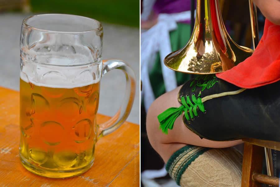 Oberammergau Schuhplattler Gartenfest German folk dancing 3