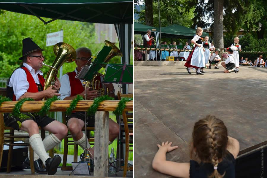 Oberammergau Schuhplattler Gartenfest German folk dancing 5