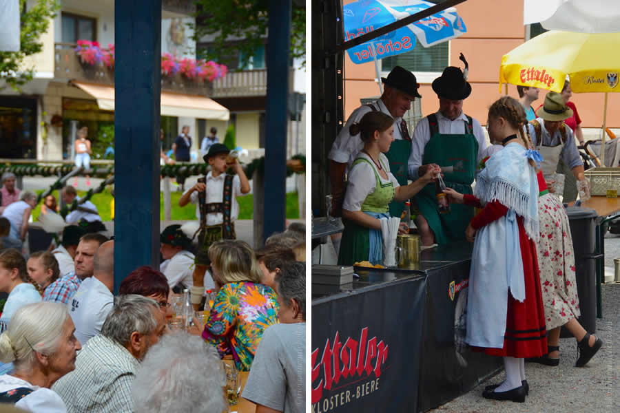 Oberammergau Schuhplattler Gartenfest German folk dancing 6