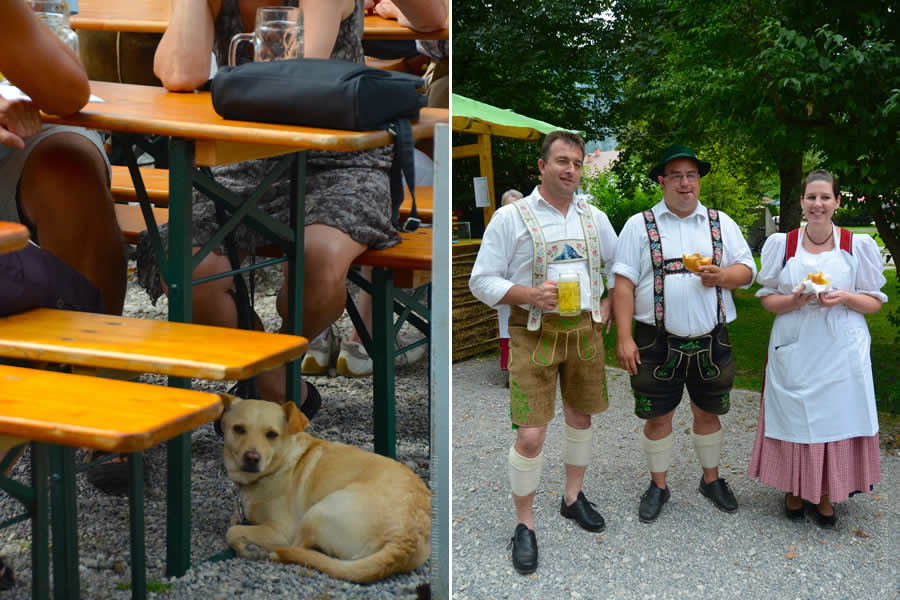 Oberammergau Schuhplattler Gartenfest German folk dancing 7