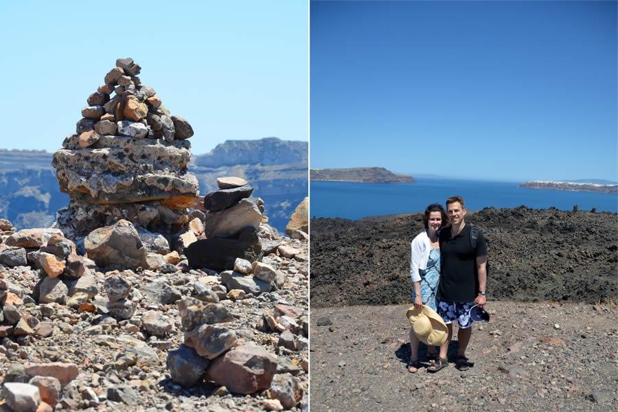 Santorini Boat and Volcano Tours Nea Kameni 14