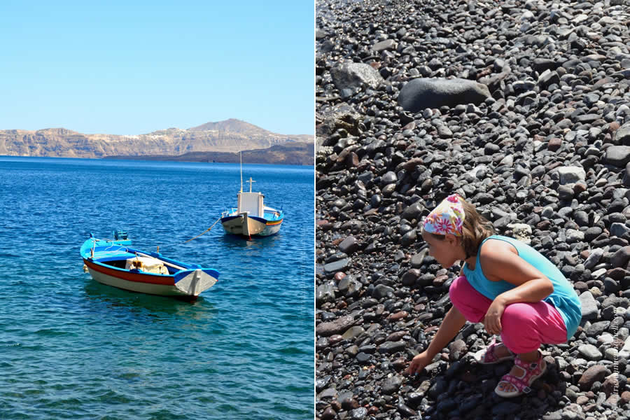 Santorini Boat and Volcano Tours Nea Kameni 16