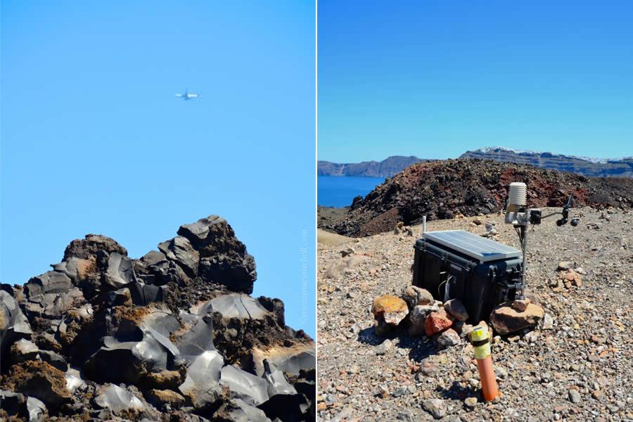 Santorini Boat and Volcano Tours Nea Kameni 6