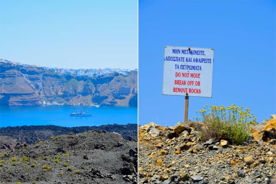 Santorini Boat and Volcano Tours Nea Kameni