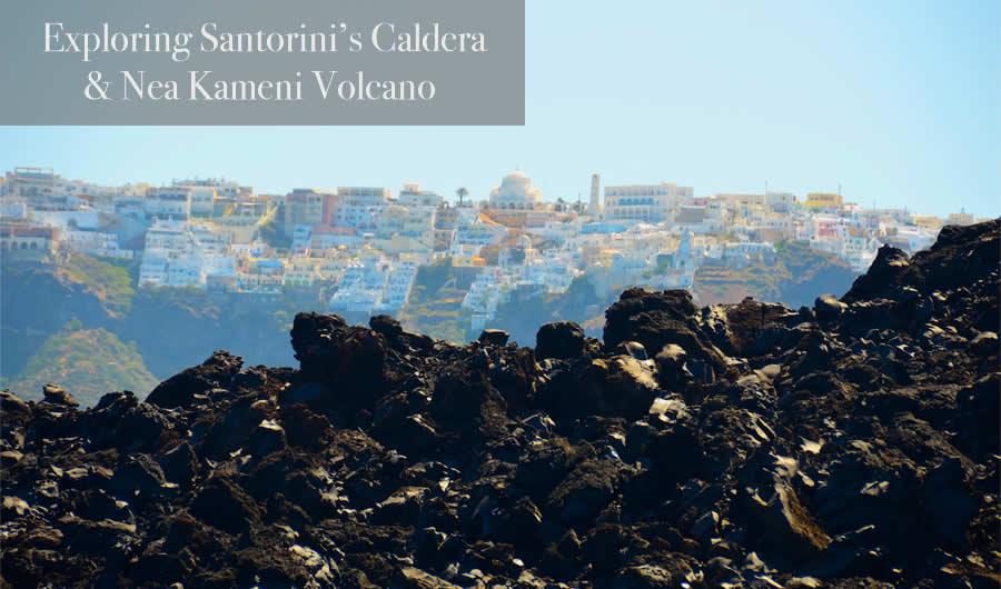 Santorini Volcano Nea Kameni Tour Caldera