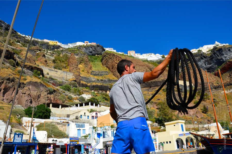 Santorini Volcano Tour and Caldera Fira 2
