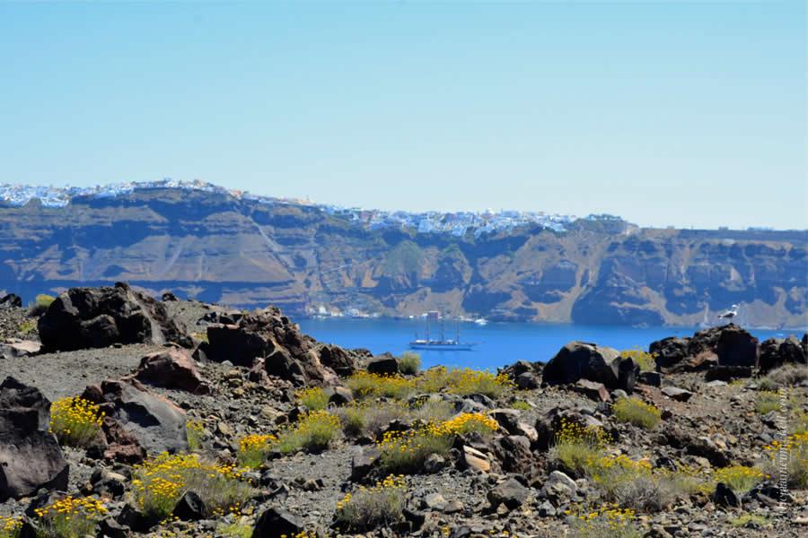 Santorini Volcano Tour and Caldera Fira 5