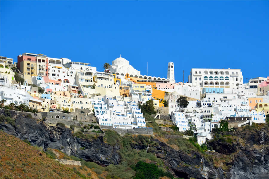 Santorini Volcano Tour and Caldera Fira