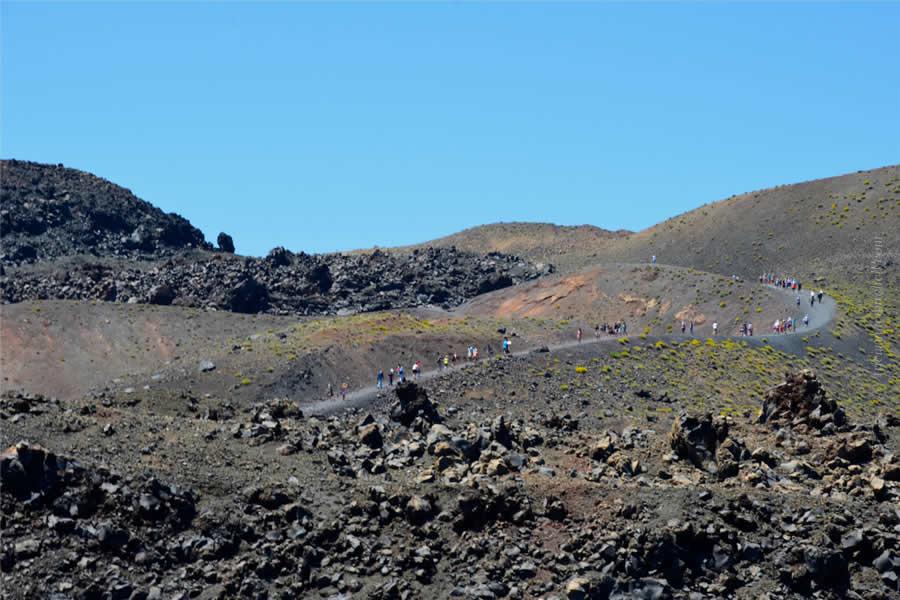 Santorini Volcano Tour Nea Kameni 12