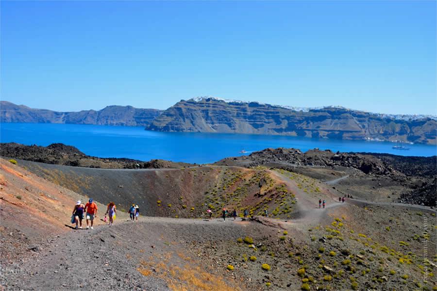 Santorini Volcano Tour Nea Kameni 3