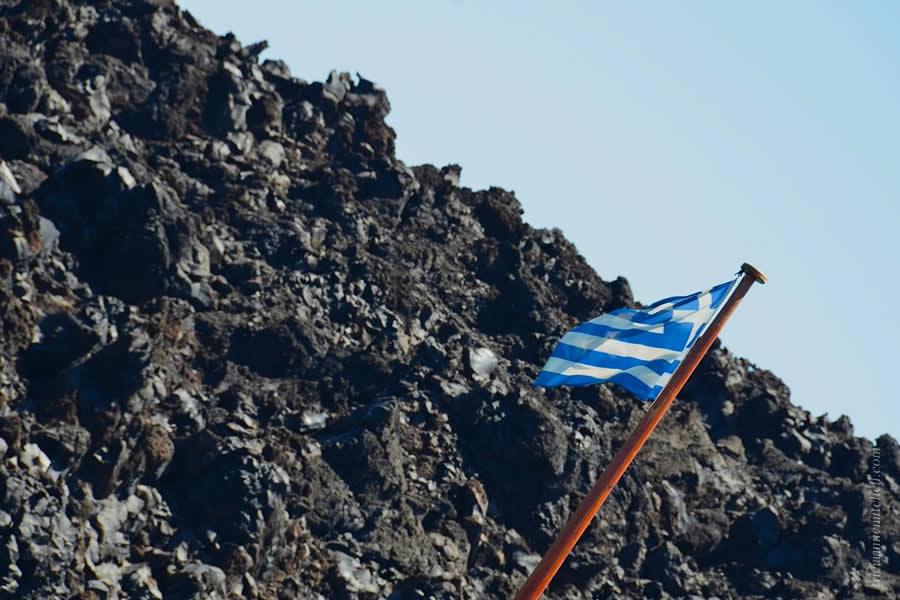 Santorini Volcano Tour Nea Kameni 4