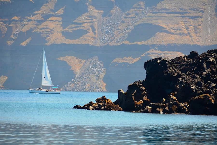 Santorini Volcano Tour Nea Kameni 5