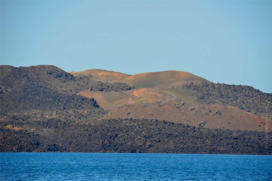 Santorini Volcano Tour Nea Kameni 9