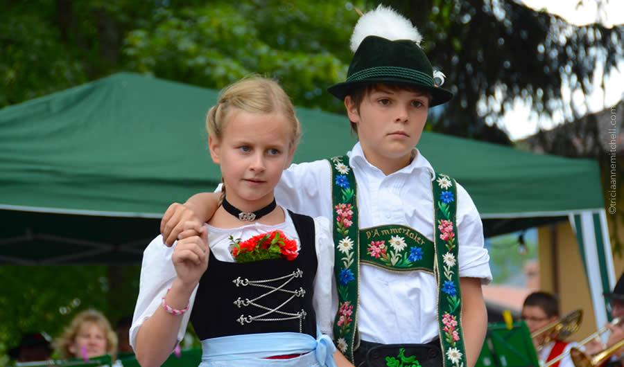 Schuhplattler german folk dance Oberammergau 1