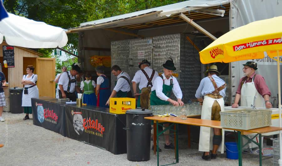 Schuhplattler german folk dance Oberammergau 14