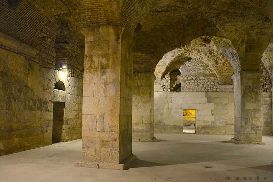 Basement of Diocletian Palace