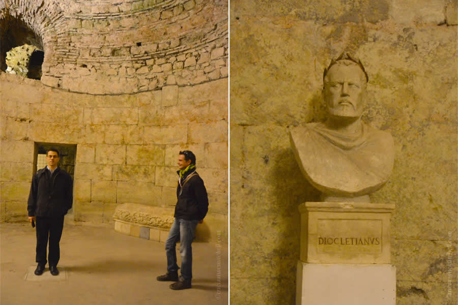 Diocletian Basement and Bust