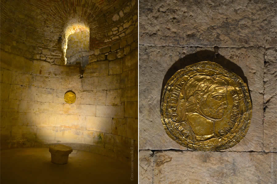 Diocletian Gold Coin Replica Basement
