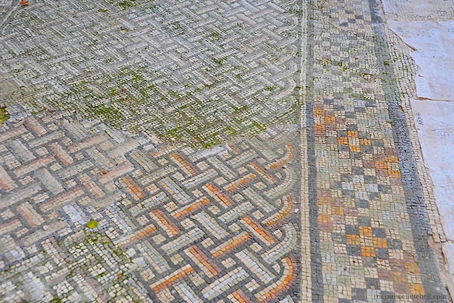 Mosaic Tile Diocletian Palace