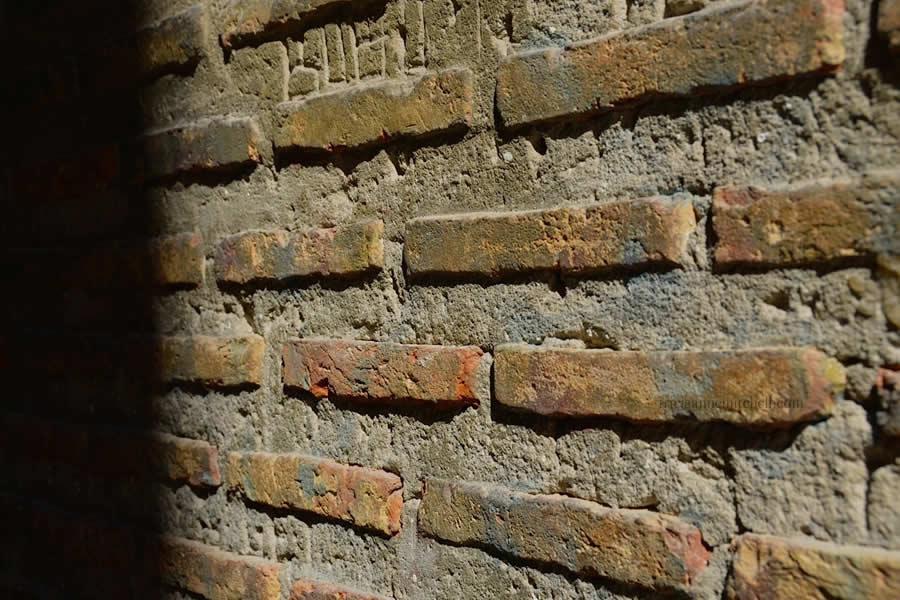 Roman Brickwork inside Vestibule Split Croatia