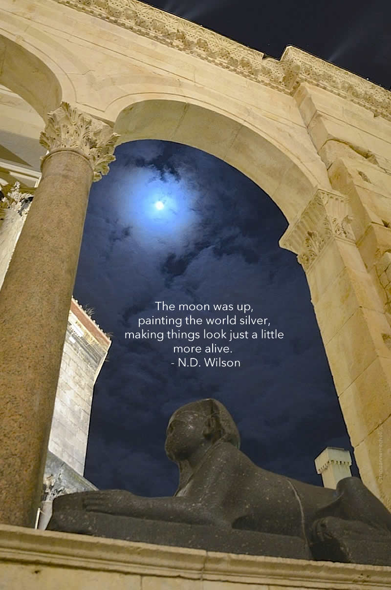 Sphinx in Split Peristyle Croatia