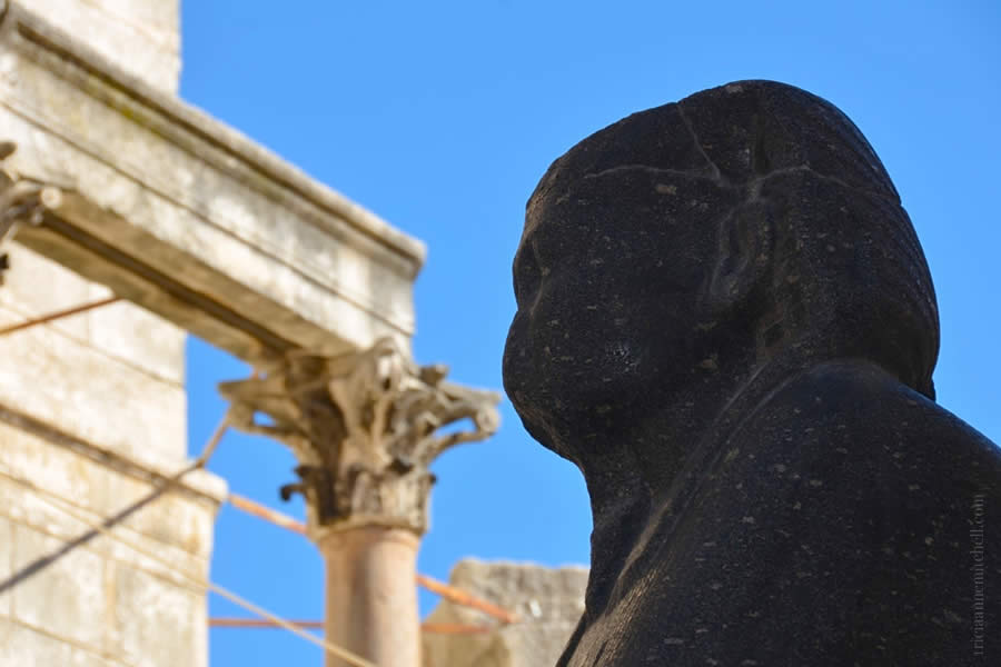 Split Mausoleum St. Duje Sphinx