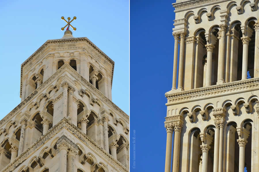 St. Duje Dominus Cathedral Belltower Split Croatia