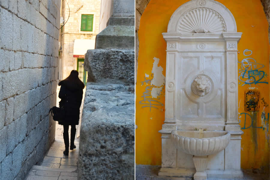 Street Scenes in Split Croatia 2