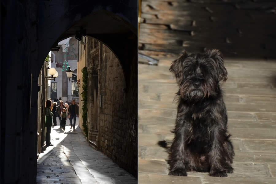 Street Scenes in Split Croatia