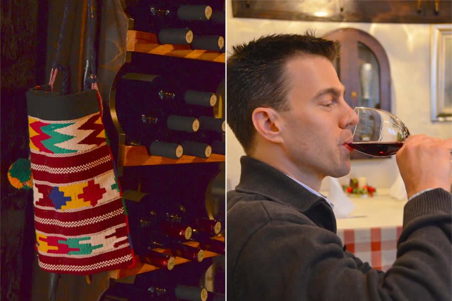 Wine at Restaurant Varos - Split or Spalato, Croatia